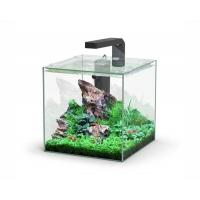 Aquatlantis aquarium full glass cube 10L 22x22.6x22cm incl ledlight