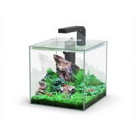 Aquatlantis aquarium volglas kubus 10L 22x22.6x22cm incl led
