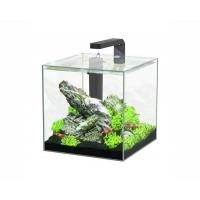 Aquatlantis aquarium full glass cube 15L 25.5x26.1x25.5cm incl ledlight