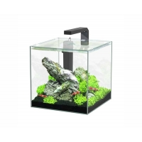 Aquatlantis aquarium volglas kubus 15L 25.5x26.1x25.5cm incl led