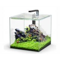 Aquatlantis aquarium full glass cube 54L 38.8x38.8x38.8cm incl ledlight