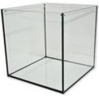 Full glass cube aquarium 40x40x40cm