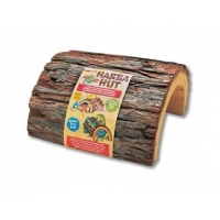 Zoomed Habba Hut Natural Wood Large