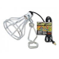 Zoomed Repti Porcelain Clamp Lamp 240V