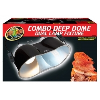 Zoomed Large Combo Deep Dome Fixture