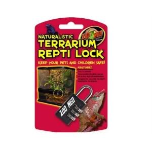 Zoomed Naturalistic Terrarium Repti Lock