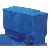 Opzetfilter blauw 220L voor koudwater visbak